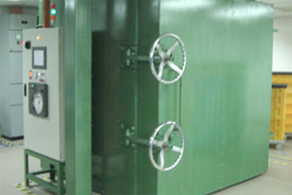 Industrial Oven Temperature & RH Control System